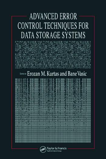Advanced Error Control Techniques for Data Storage Systems book cover