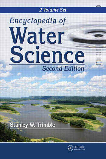 Encyclopedia of water Science book cover