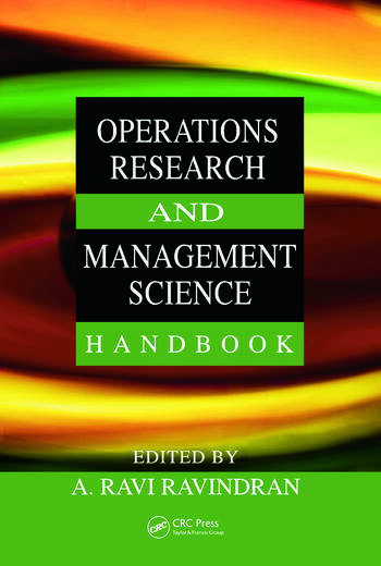 Operations research and management science handbook crc press book operations research and management science handbook fandeluxe Gallery