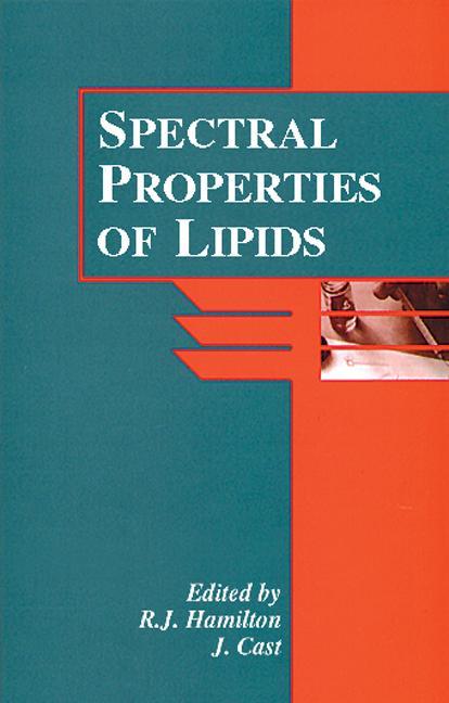Spectral Properties of Lipids book cover