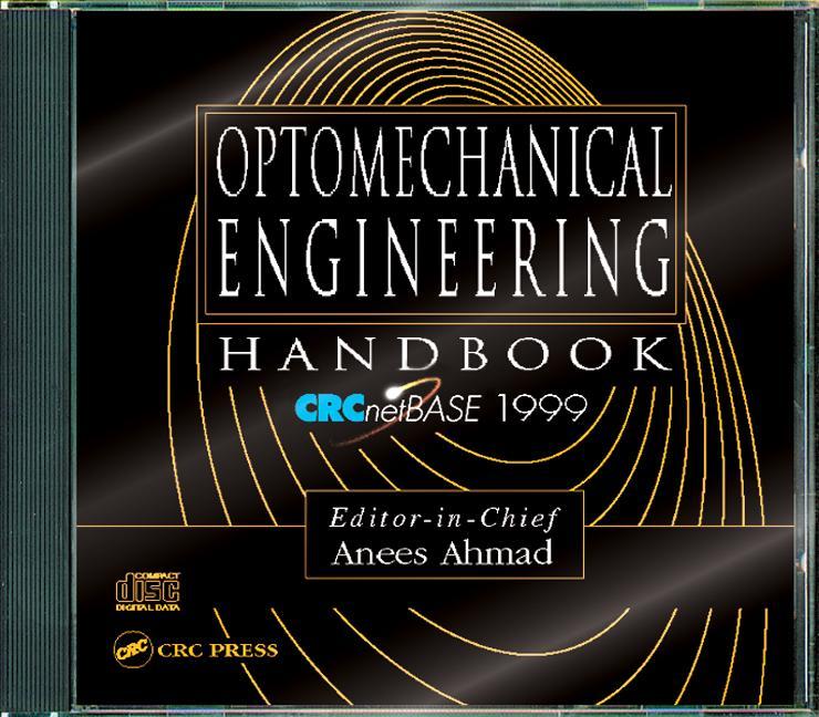 Optomechanical Engineering Handbook on CD-ROM book cover