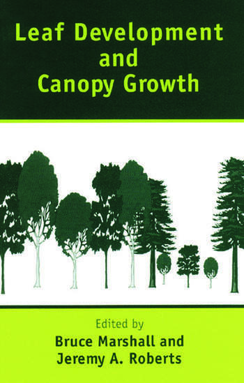 Leaf Development and Canopy Growth book cover