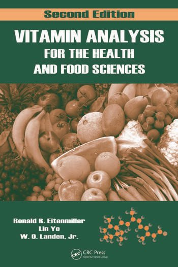 Vitamin Analysis for the Health and Food Sciences, Second Edition book cover