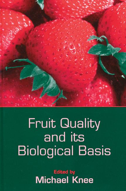 Fruit Quality and its Biological Basis book cover