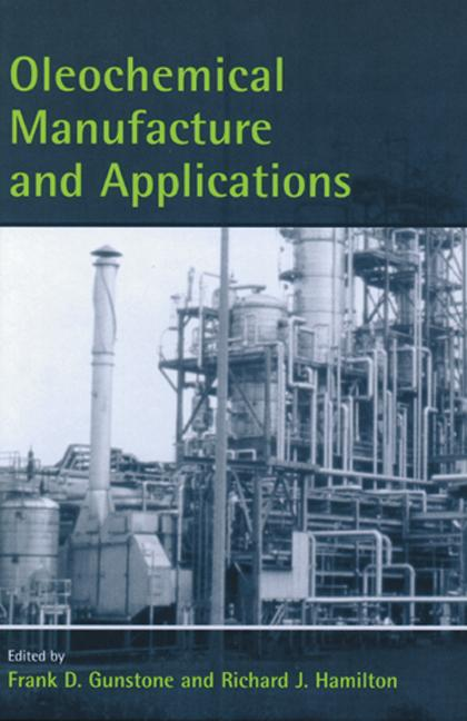 Oleochemical Manufacture and Applications book cover