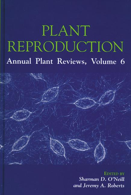 Plant Reproduction book cover