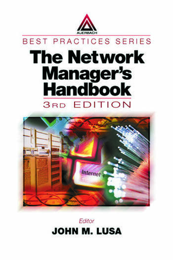 The Network Manager's Handbook, Third Edition 1999 book cover