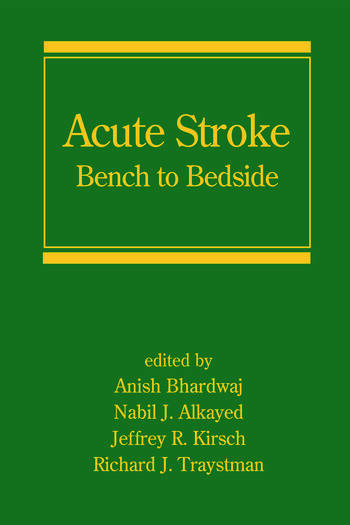 Acute Stroke Bench to Bedside book cover