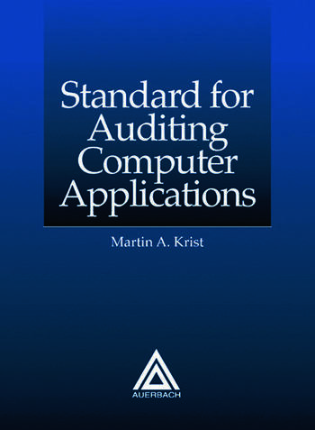 Standard for Auditing Computer Applications book cover