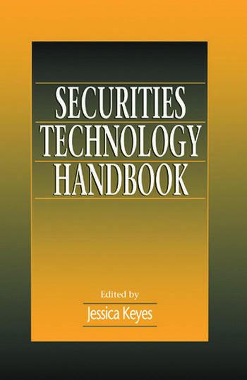 Securities Technology Handbook book cover