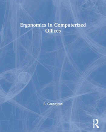 Ergonomics In Computerized Offices book cover