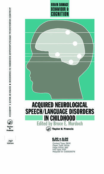 Acquired Neurological Speech/Language Disorders In Childhood book cover
