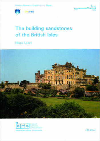 The Building Sandstones of the British Isles (BR 84) book cover