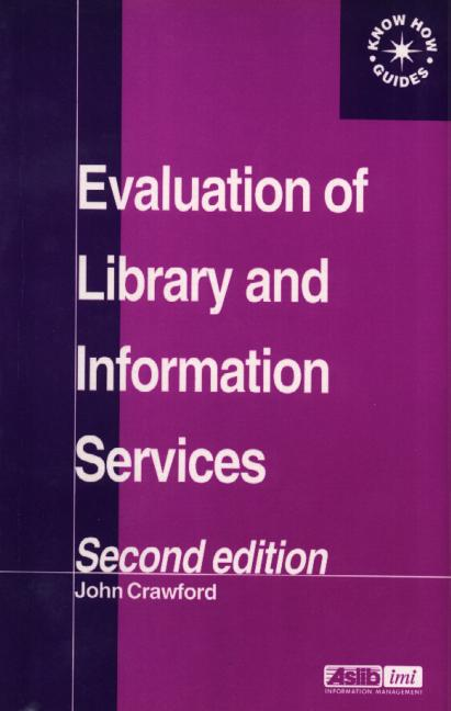 Evaluation of Library and Information Services book cover