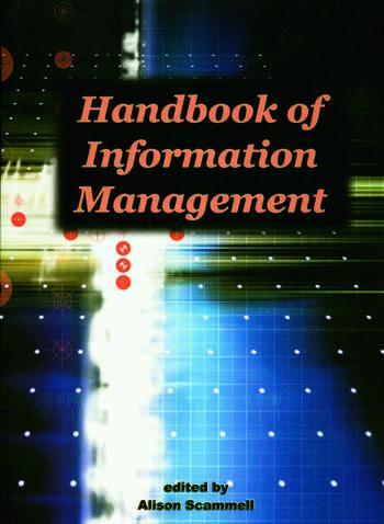Handbook of Information Management book cover
