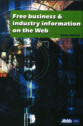Free Business and Industry Information on the Web book cover