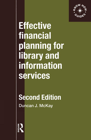 Effective Financial Planning for Library and Information Services book cover