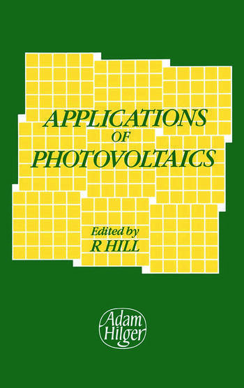 Applications of Photovoltaics book cover