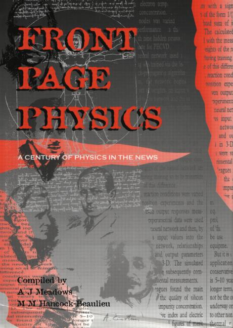 Front Page Physics A Century of Physics in the News book cover