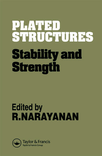 Plated Structures Stability and strength book cover