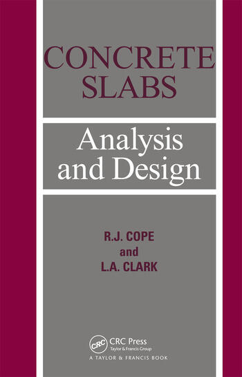 Concrete Slabs Analysis and design book cover