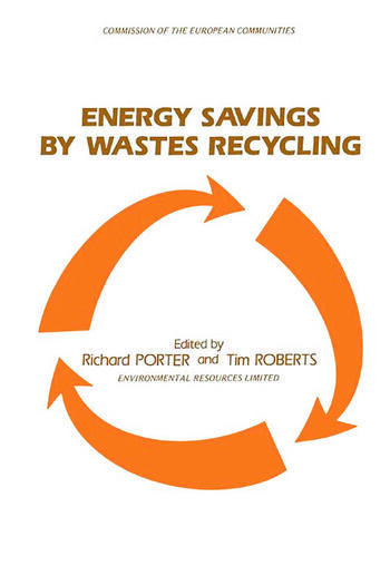 Energy Savings by Wastes Recycling book cover
