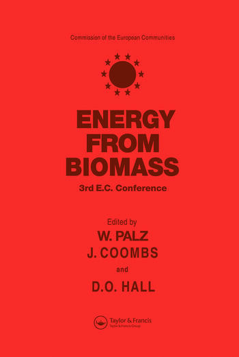 Energy from the Biomass Third EC conference book cover