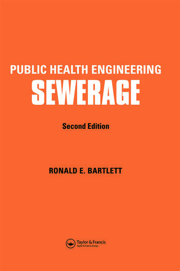 Public Health Engineering Sewerage, Second Edition book cover