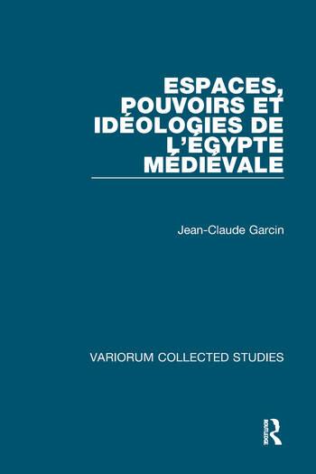Espaces, pouvoirs et idéologies de l'Égypte médiévale book cover