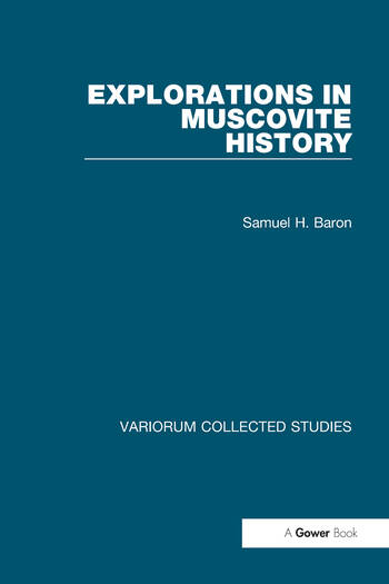 Explorations in Muscovite History book cover