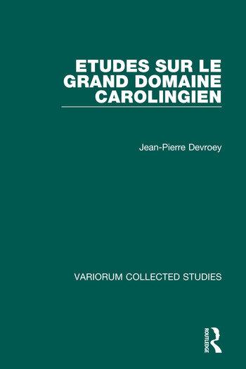 Etudes sur le grand domaine carolingien book cover