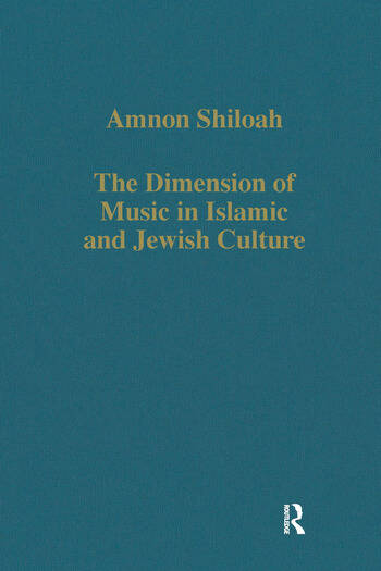 The Dimension of Music in Islamic and Jewish Culture book cover
