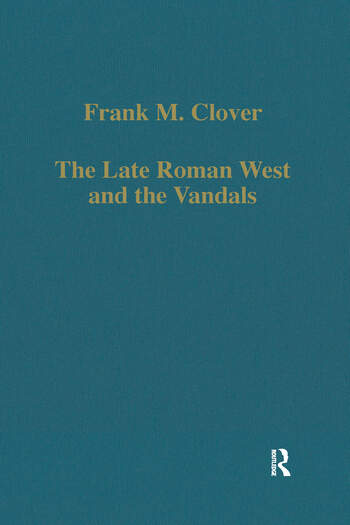 The Late Roman West and the Vandals book cover