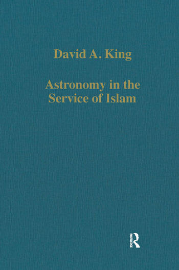 Astronomy in the Service of Islam book cover