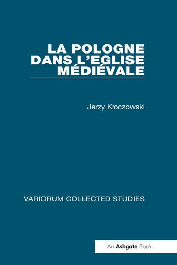 La Pologne dans l'Eglise médiévale book cover