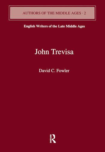 John Trevisa book cover