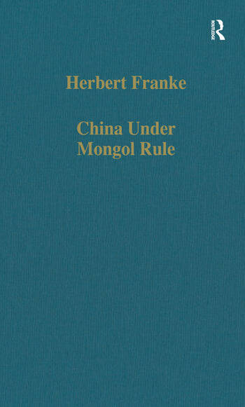 China Under Mongol Rule book cover