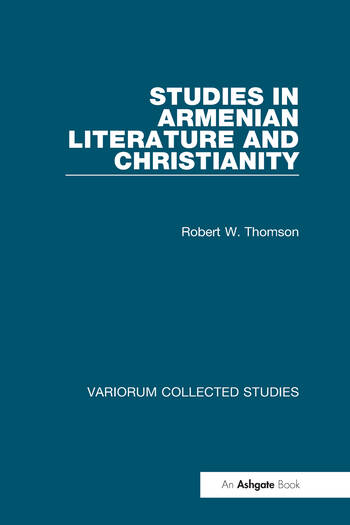 Studies in Armenian Literature and Christianity book cover