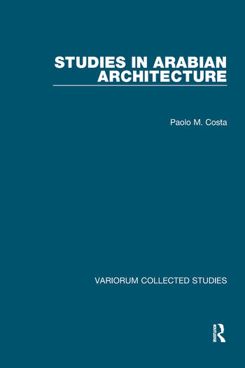 Studies in Arabian Architecture book cover
