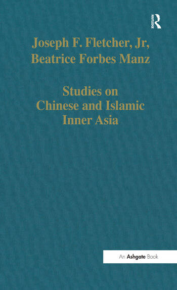 Studies on Chinese and Islamic Inner Asia book cover