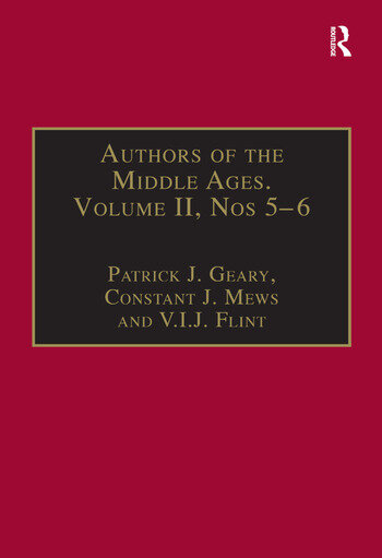 Authors of the Middle Ages, Volume II, Nos 5–6 Historical and Religious Writers of the Latin West book cover