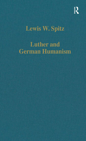 Luther and German Humanism book cover