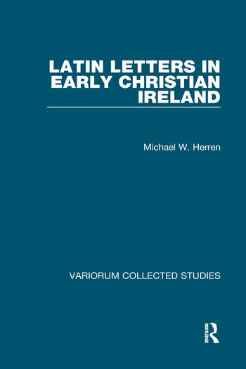 Latin Letters in Early Christian Ireland book cover