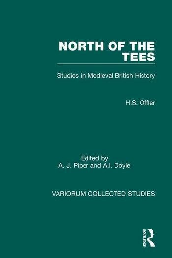 North of the Tees Studies in Medieval British History book cover