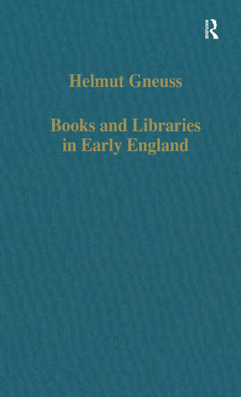 Books and Libraries in Early England book cover