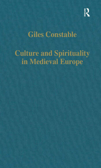 Culture and Spirituality in Medieval Europe book cover