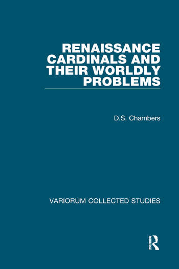 Renaissance Cardinals and their Worldly Problems book cover
