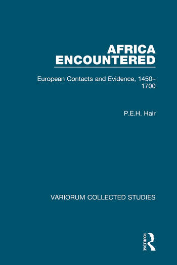 Africa Encountered European Contacts and Evidence, 1450–1700 book cover