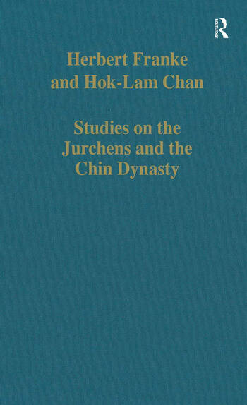 Studies on the Jurchens and the Chin Dynasty book cover