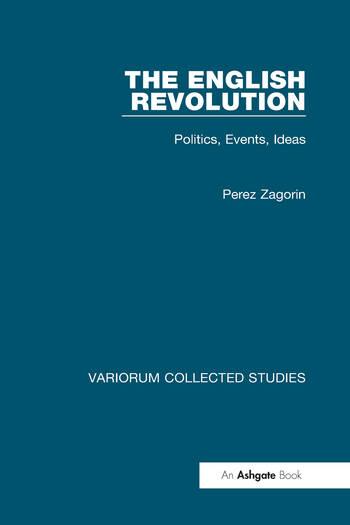 The English Revolution Politics, Events, Ideas book cover